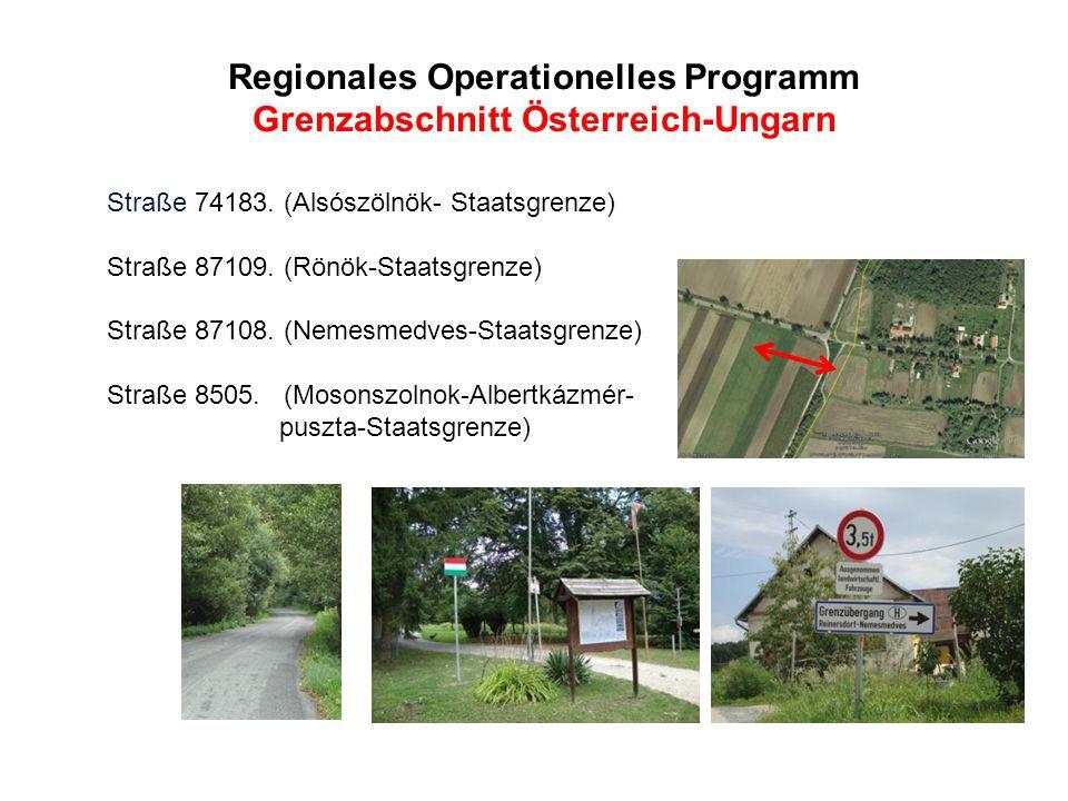Regionales Operationelles Programm Grenzabschnitt Österreich-Ungarn