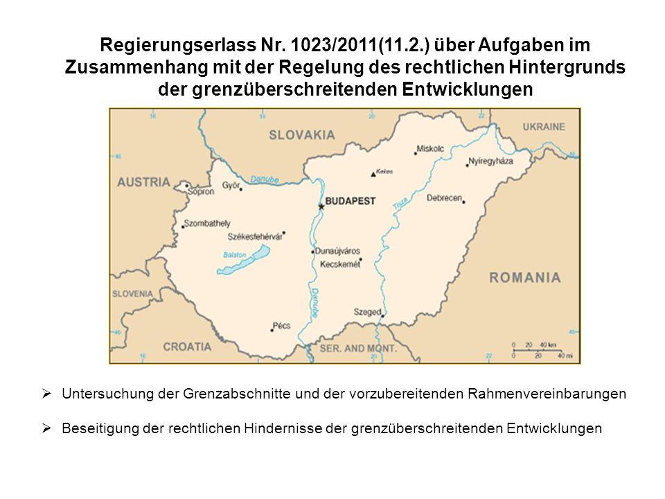 Regierungserlass Nr. 1023/2011(11. 2