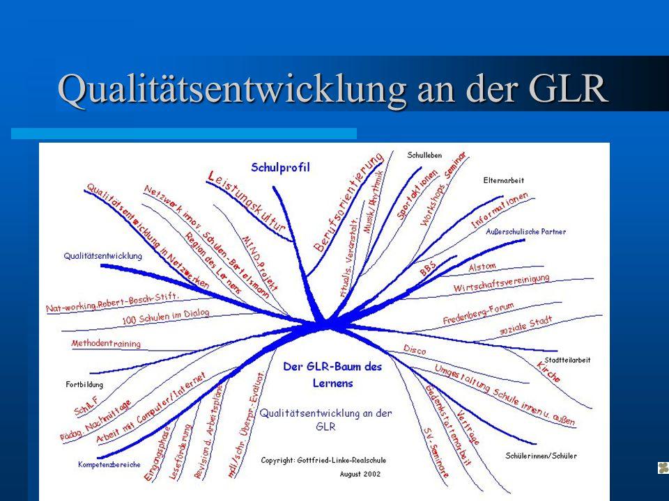 Qualitätsentwicklung an der GLR