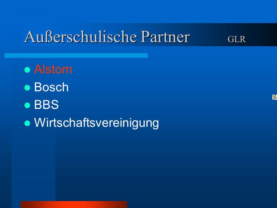 Außerschulische Partner GLR
