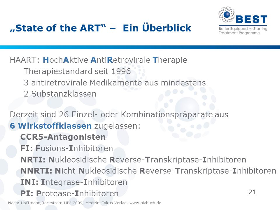 """State of the ART – Ein Überblick"