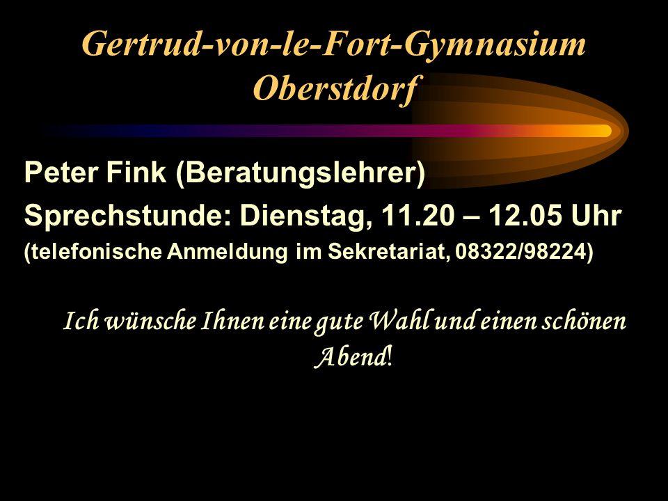 Gertrud-von-le-Fort-Gymnasium Oberstdorf