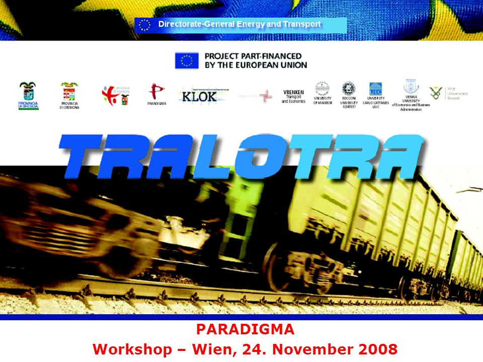 PARADIGMA Workshop – Wien, 24. November 2008