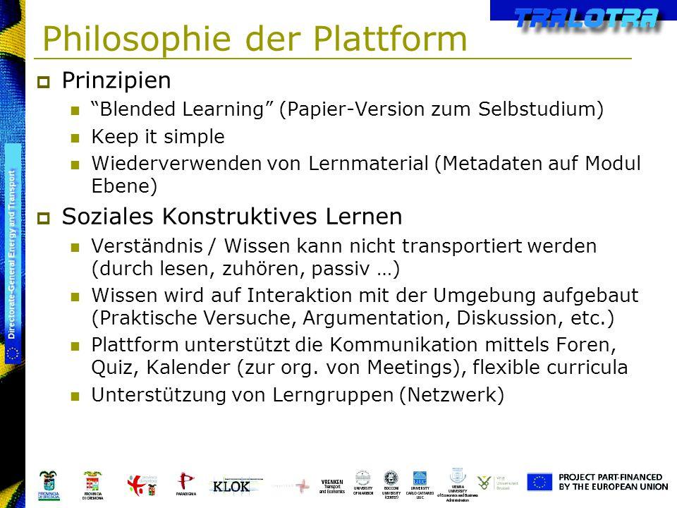 Philosophie der Plattform