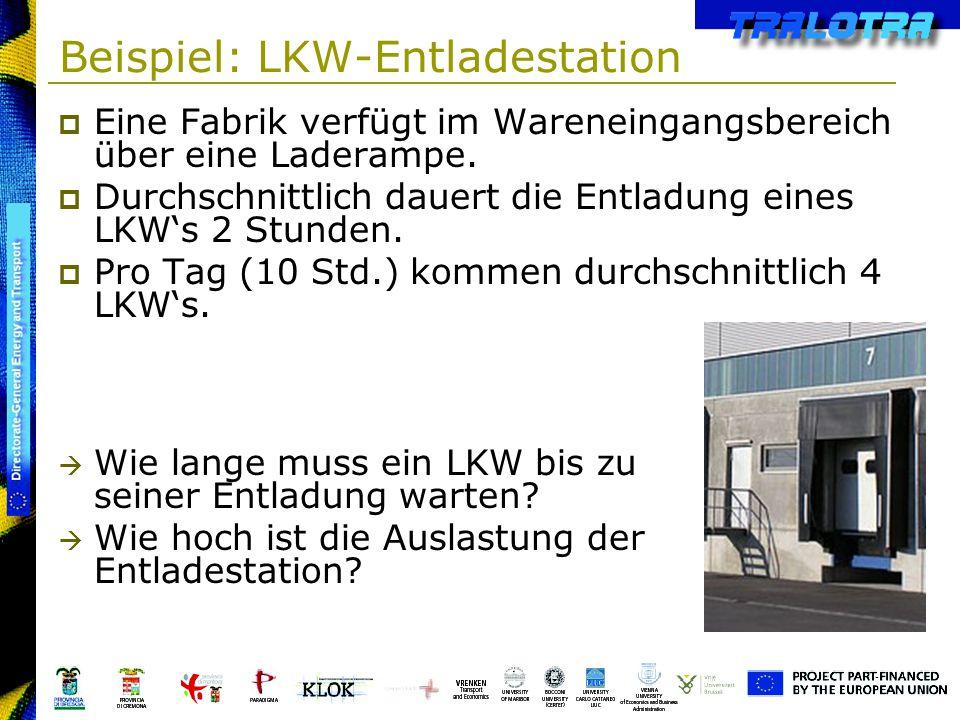 Beispiel: LKW-Entladestation