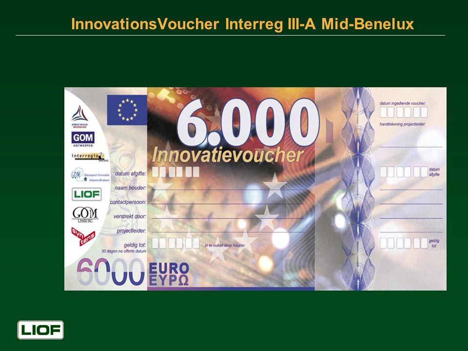 InnovationsVoucher Interreg III-A Mid-Benelux