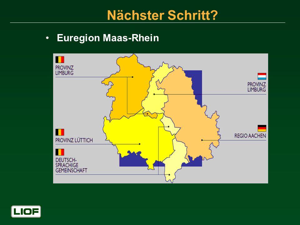 Nächster Schritt Euregion Maas-Rhein