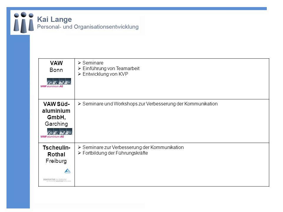 VAW Süd-aluminium GmbH, Garching