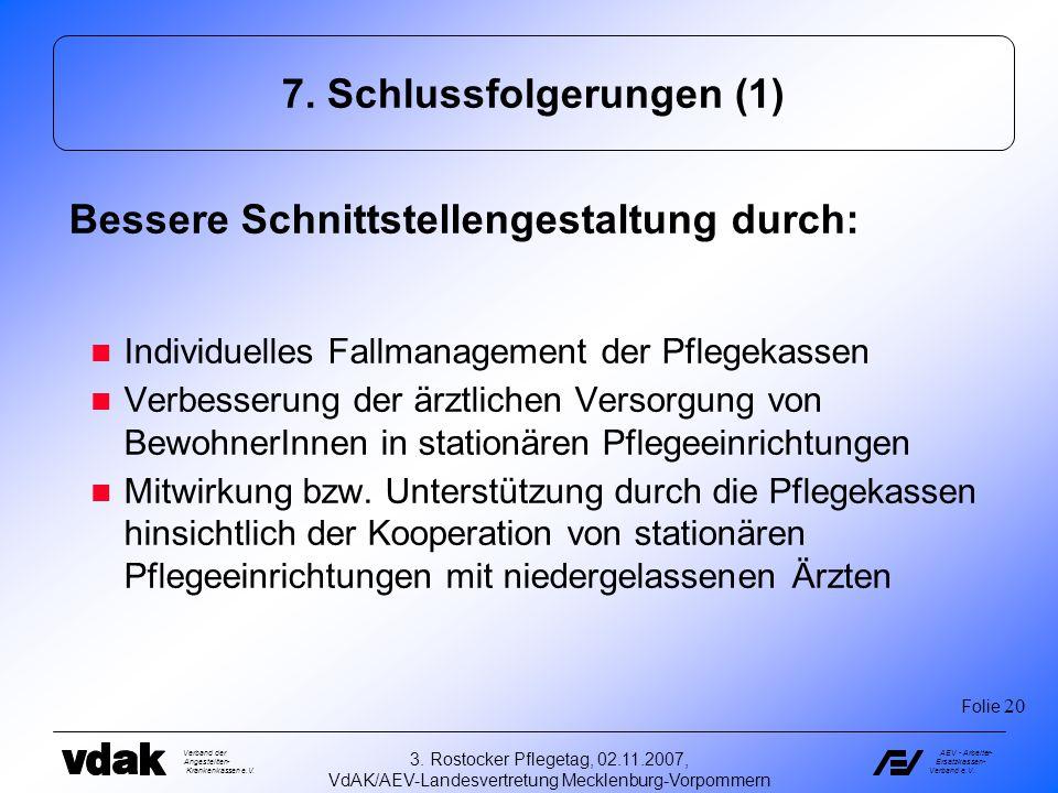 7. Schlussfolgerungen (1)