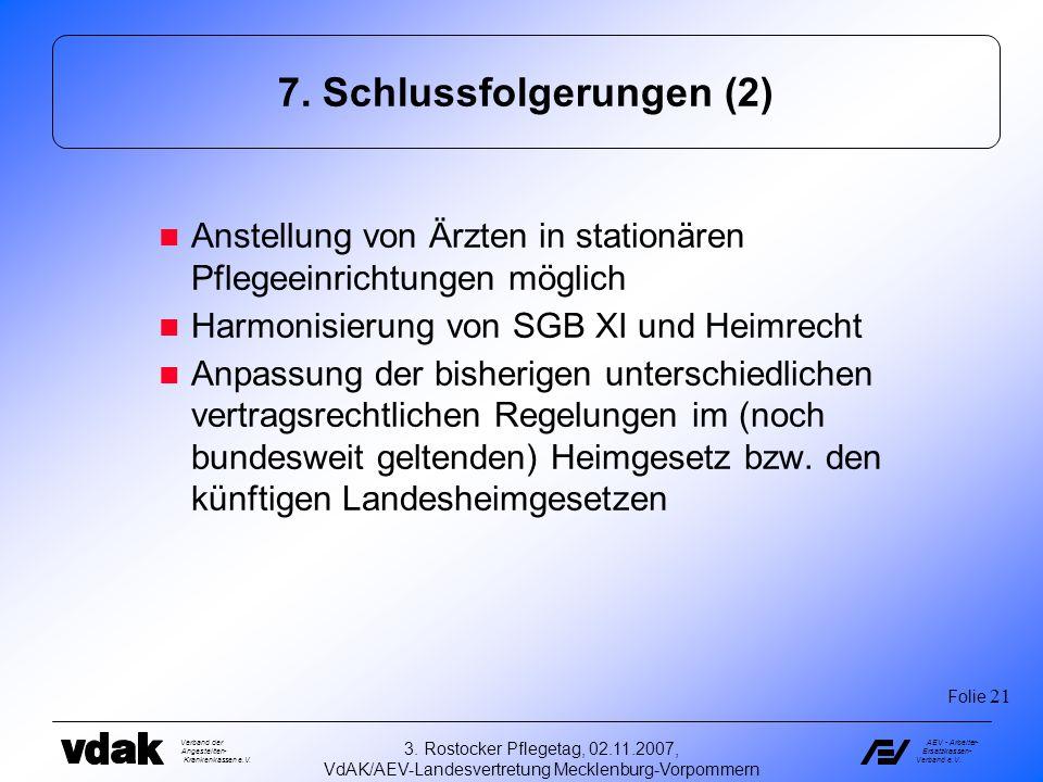 7. Schlussfolgerungen (2)