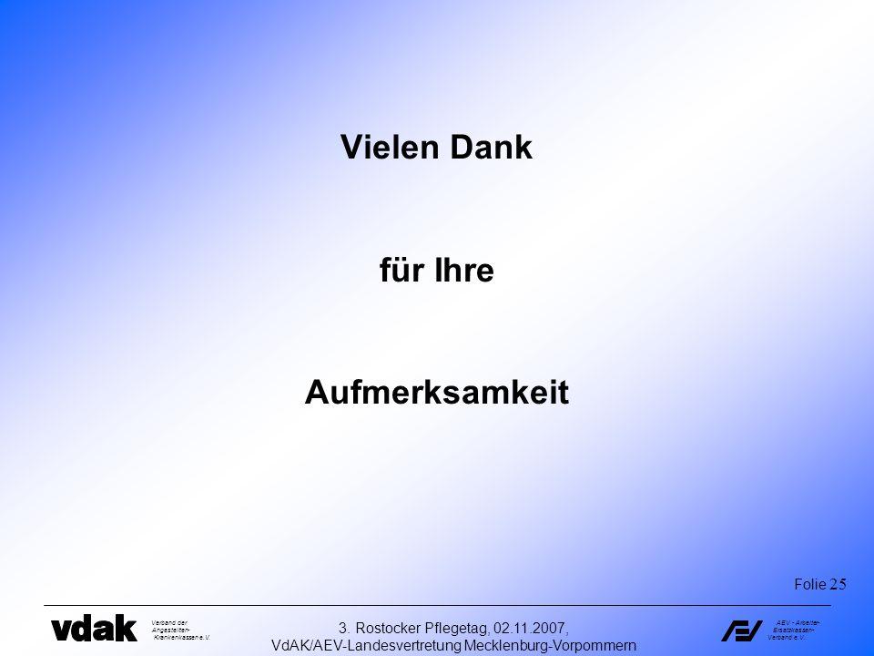 VdAK/AEV-Landesvertretung Mecklenburg-Vorpommern