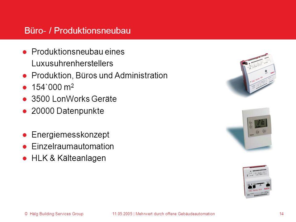 Büro- / Produktionsneubau