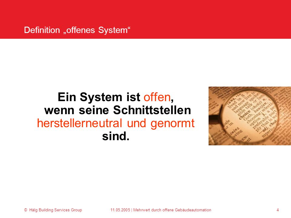 """Definition """"offenes System"""