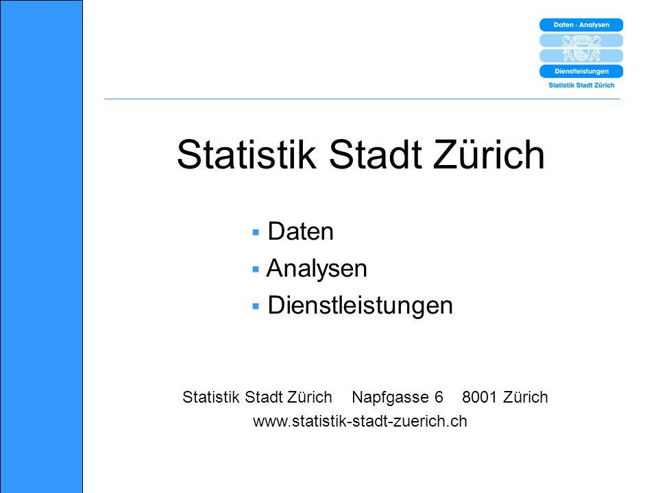 Statistik Stadt Zürich