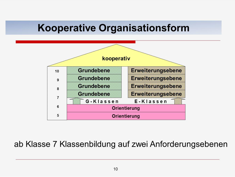 Kooperative Organisationsform