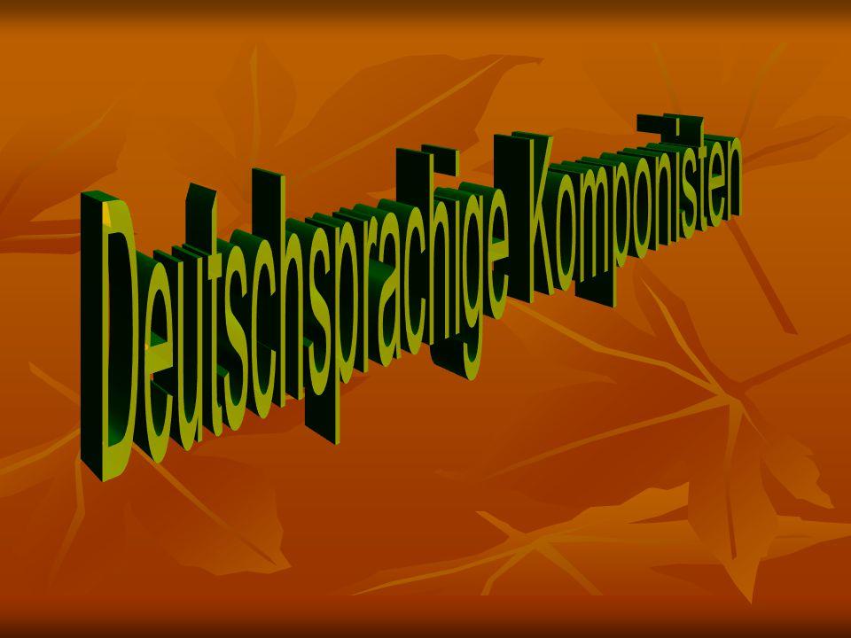 Deutschsprachige Komponisten