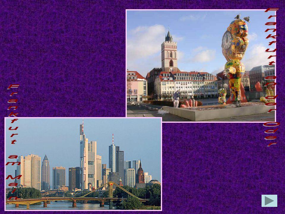 Frankfurt an der Oder Frankfurt am Main