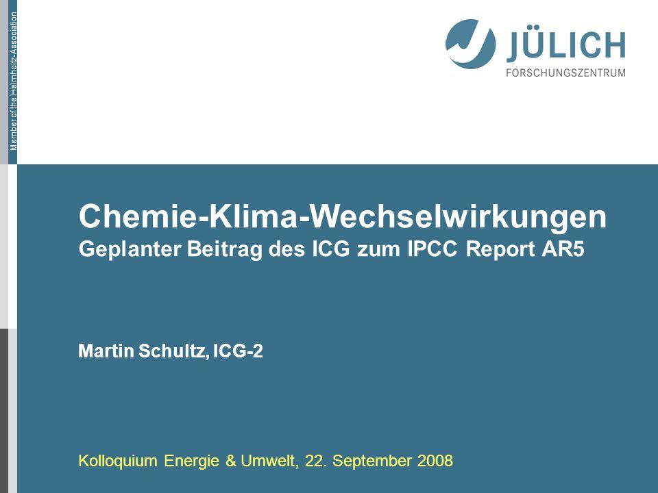 Chemie-Klima-Wechselwirkungen