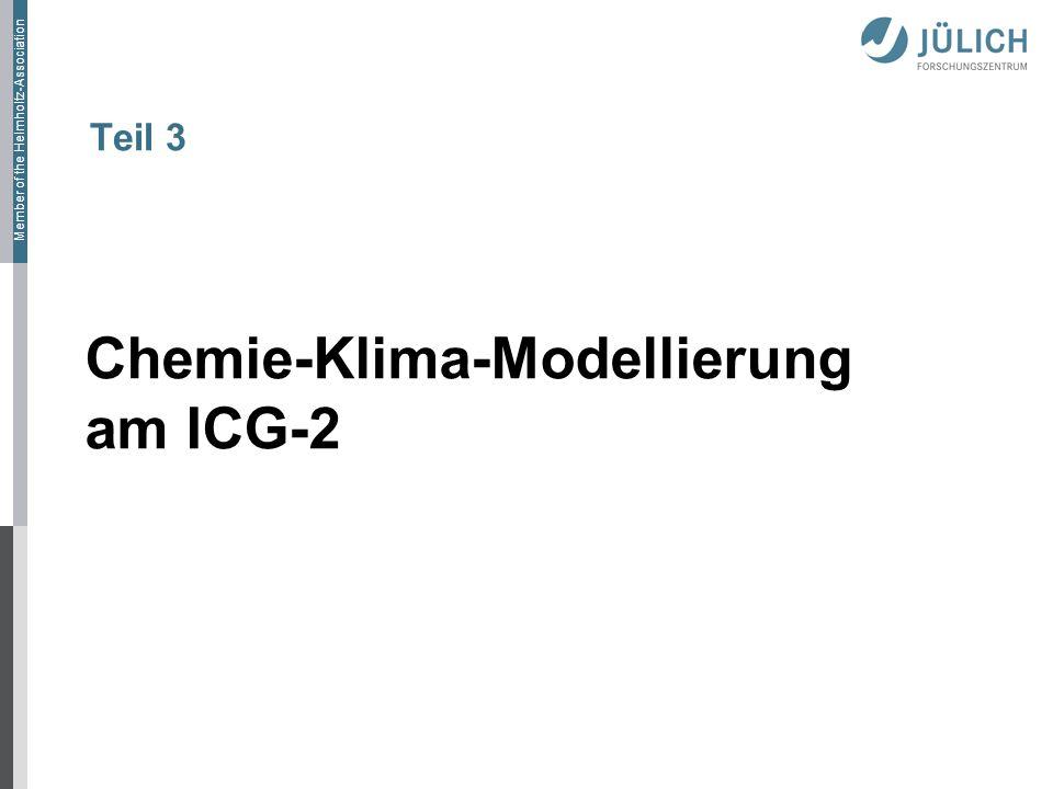 Chemie-Klima-Modellierung am ICG-2