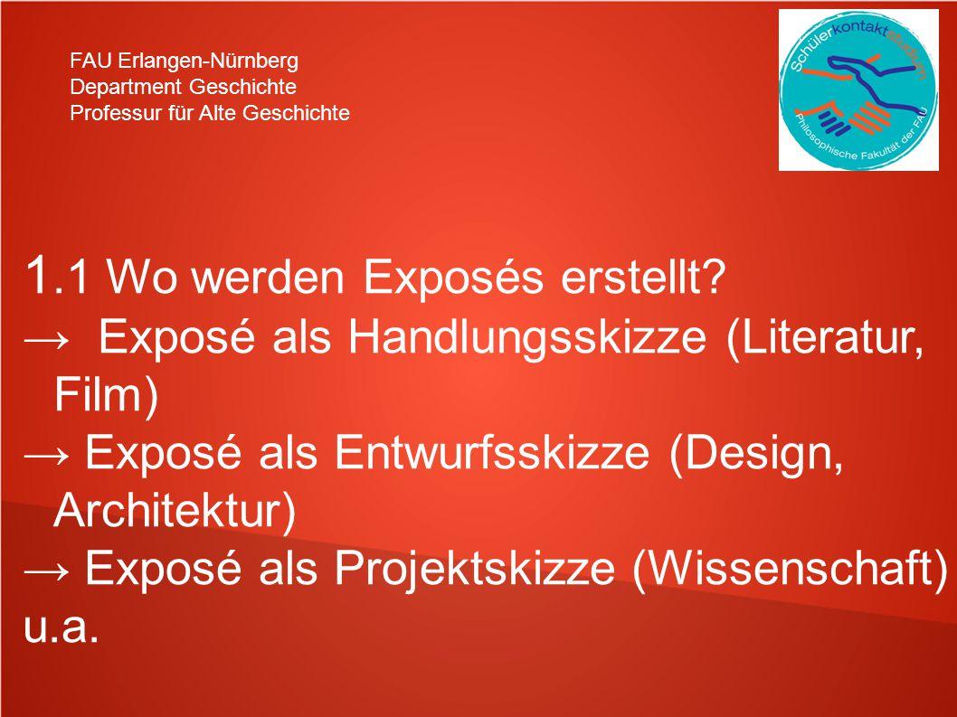 1.1 Wo werden Exposés erstellt