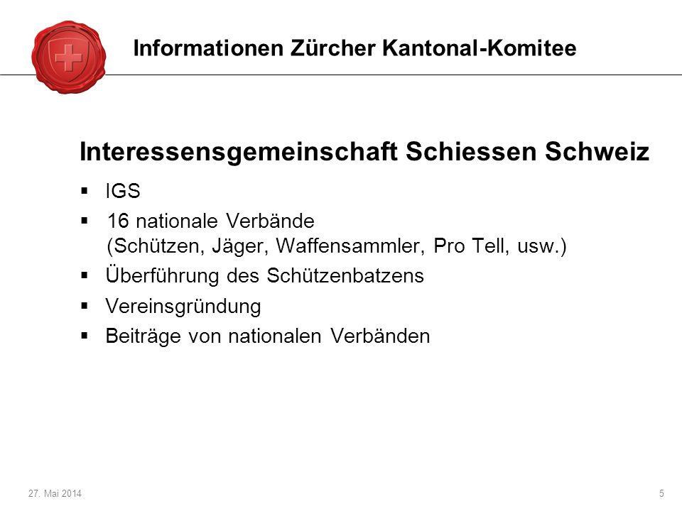 Interessensgemeinschaft Schiessen Schweiz