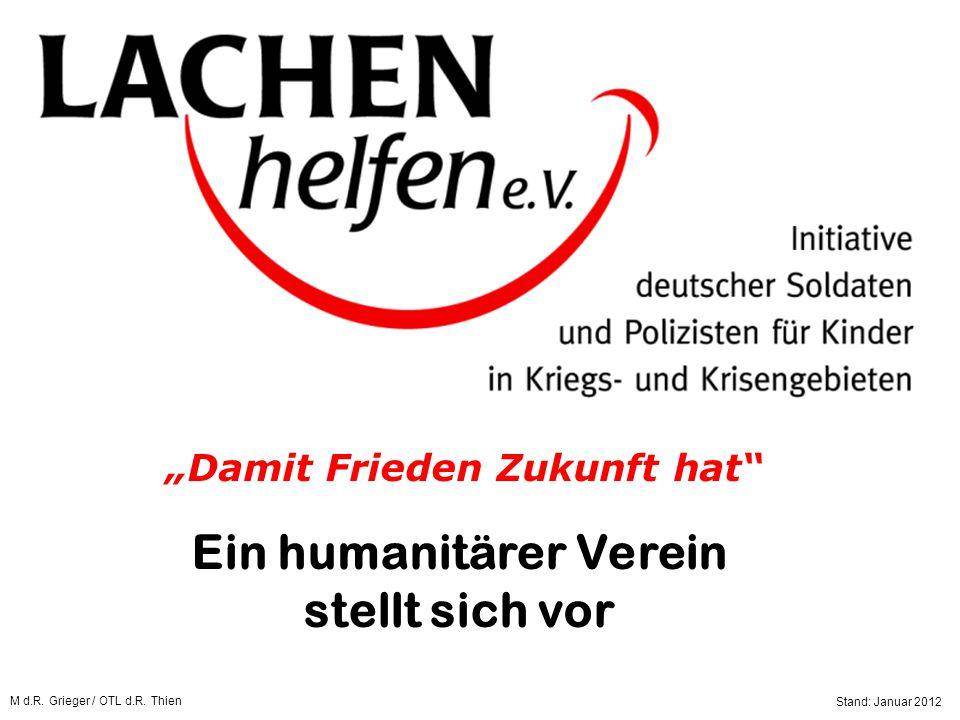 Ein humanitärer Verein stellt sich vor