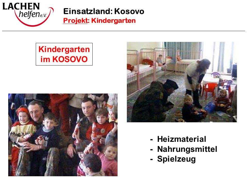 Kindergarten im KOSOVO