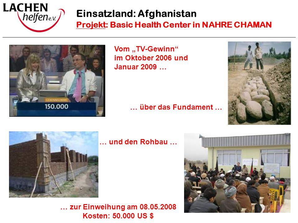 Einsatzland: Afghanistan