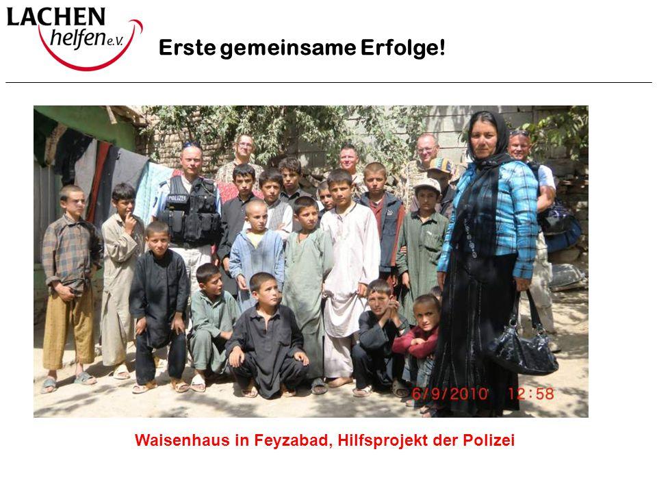Waisenhaus in Feyzabad, Hilfsprojekt der Polizei