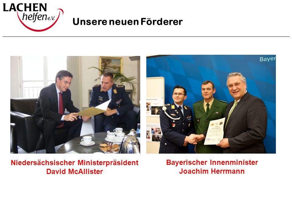 Niedersächsischer Ministerpräsident Bayerischer Innenminister