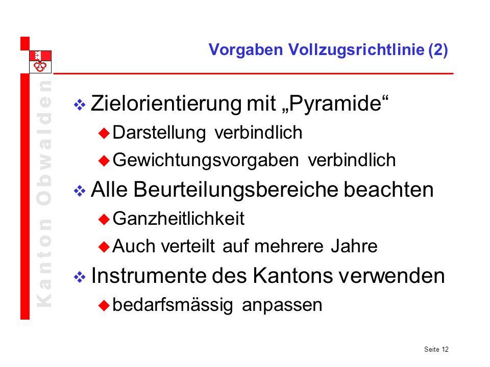 Vorgaben Vollzugsrichtlinie (2)