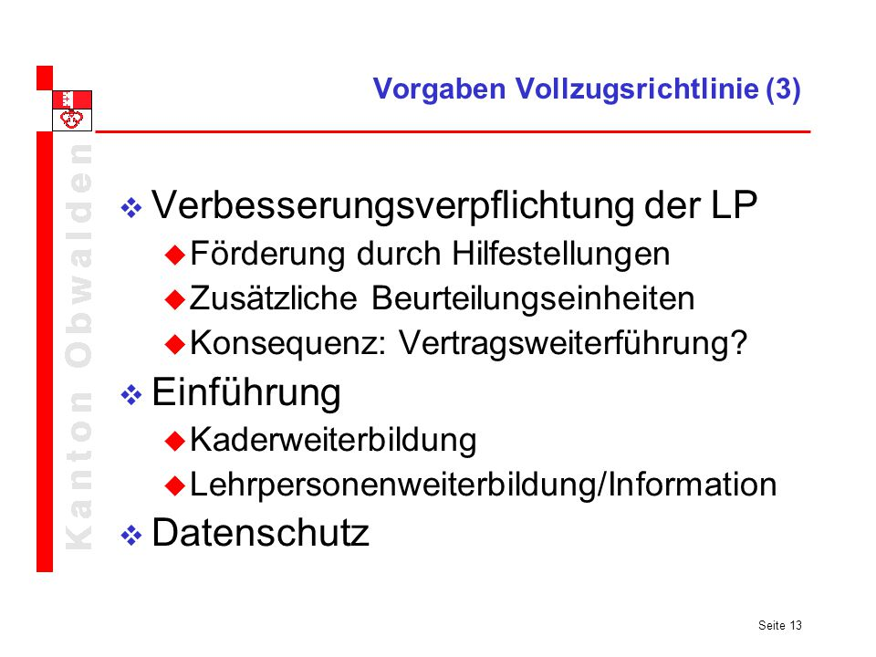 Vorgaben Vollzugsrichtlinie (3)