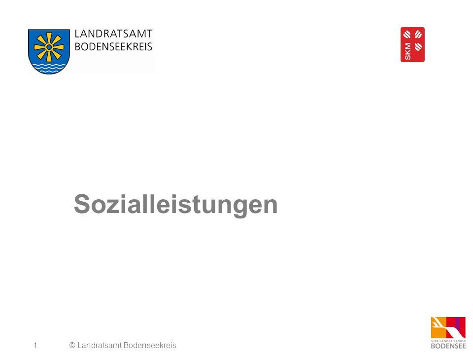 Sozialleistungen © Landratsamt Bodenseekreis
