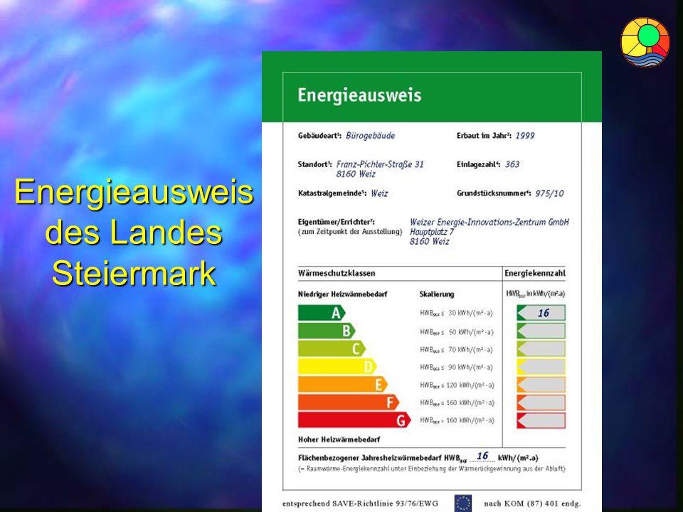 Energieausweis des Landes Steiermark
