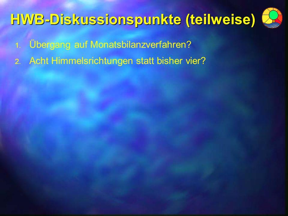 HWB-Diskussionspunkte (teilweise)