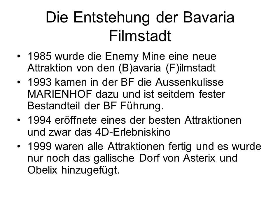 Die Entstehung der Bavaria Filmstadt
