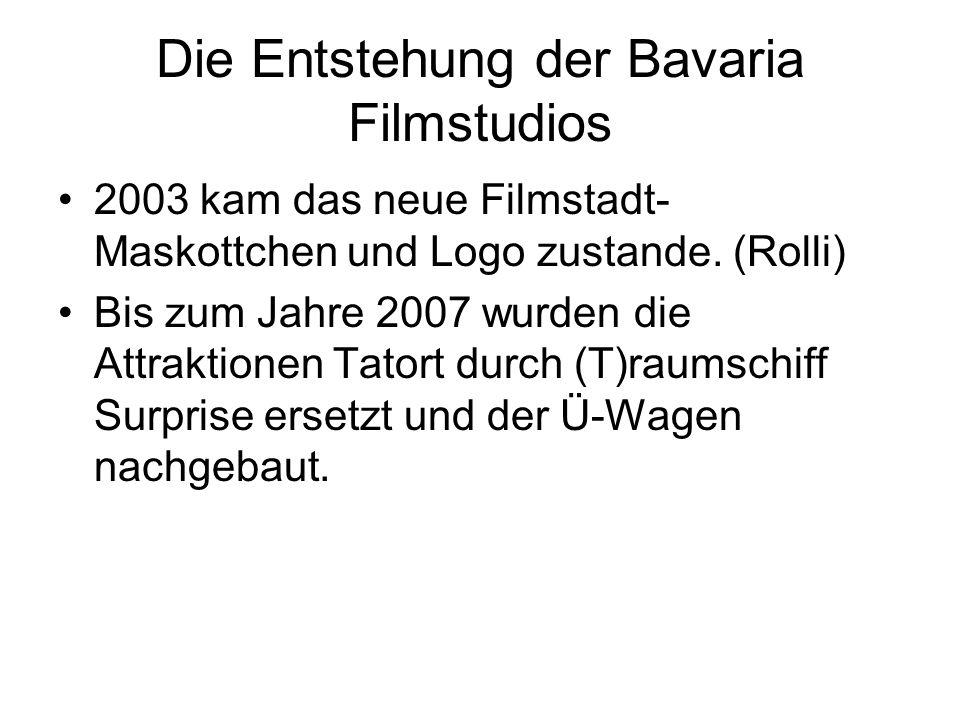 Die Entstehung der Bavaria Filmstudios