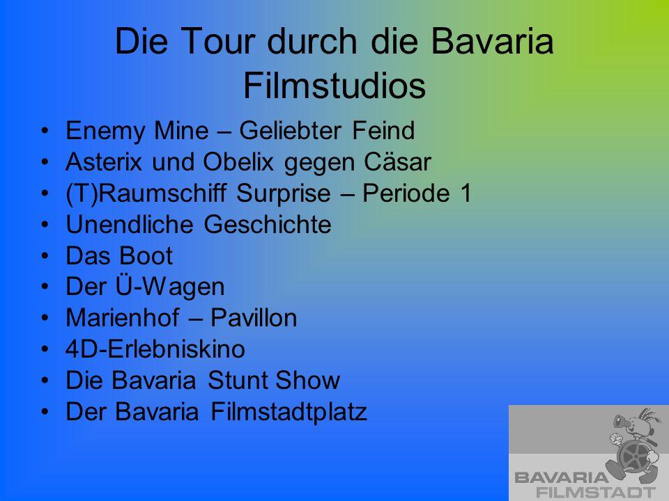 Die Tour durch die Bavaria Filmstudios