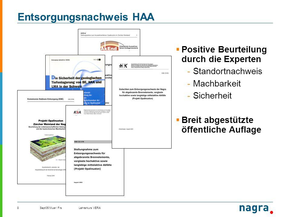 Entsorgungsnachweis HAA
