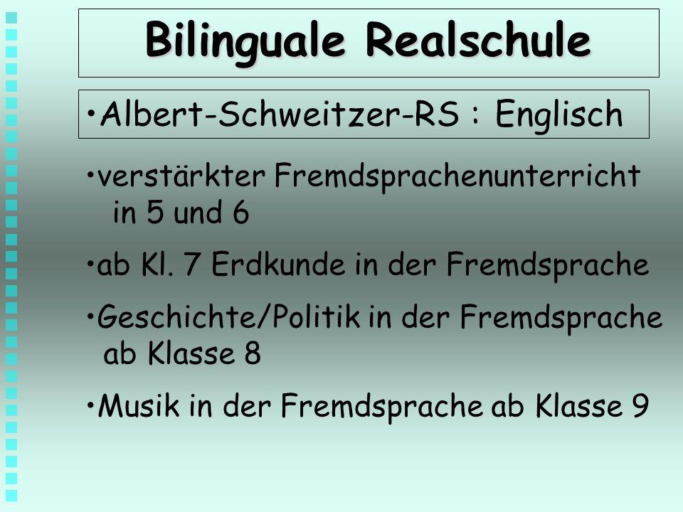 Bilinguale Realschule