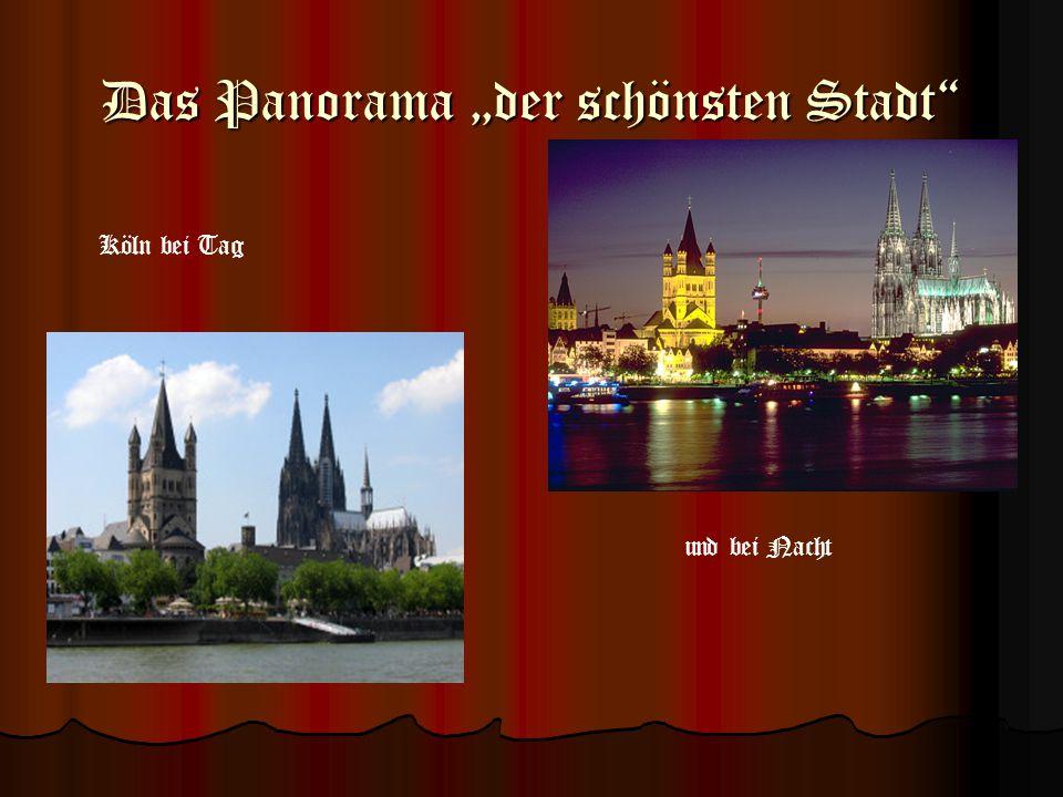 """Das Panorama """"der schönsten Stadt"""
