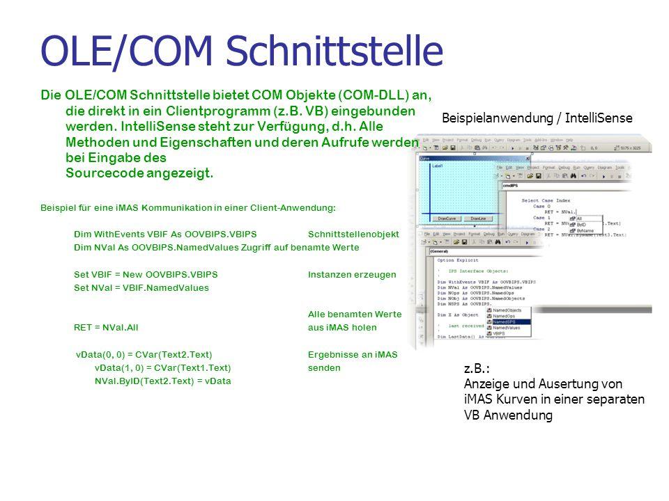 OLE/COM Schnittstelle