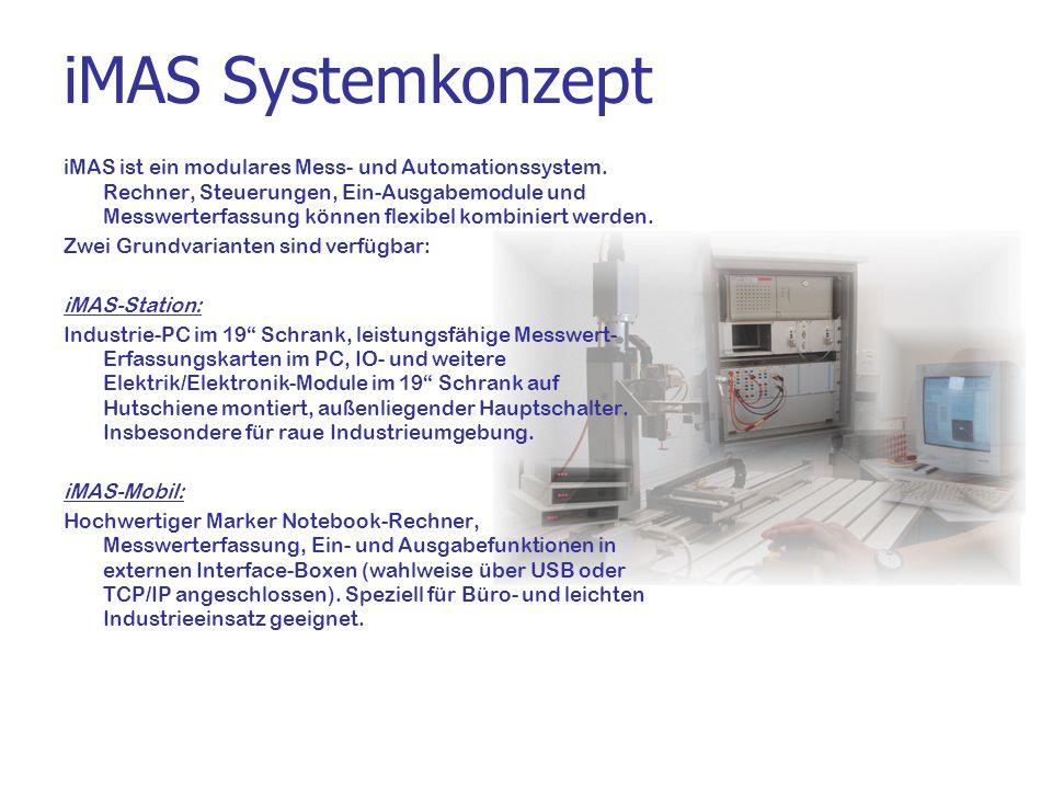 iMAS Systemkonzept