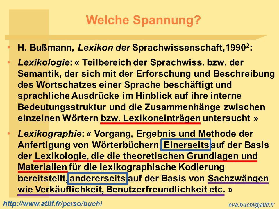 Welche Spannung H. Bußmann, Lexikon der Sprachwissenschaft,19902: