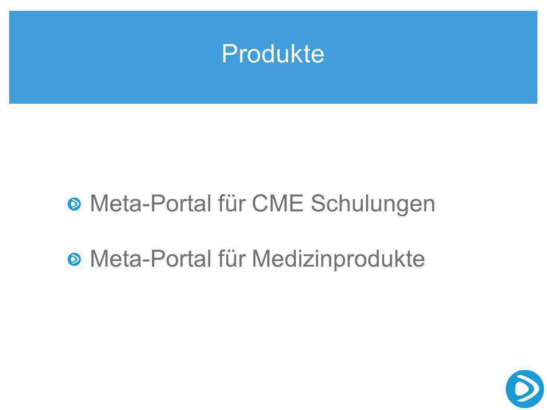 Produkte Meta-Portal für CME Schulungen