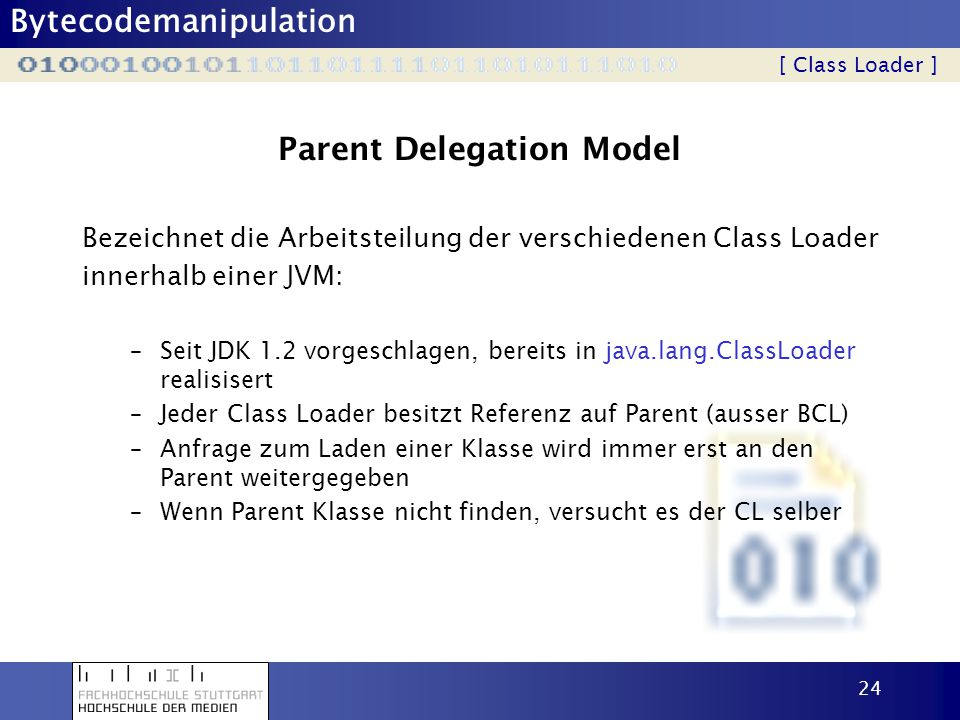 Parent Delegation Model