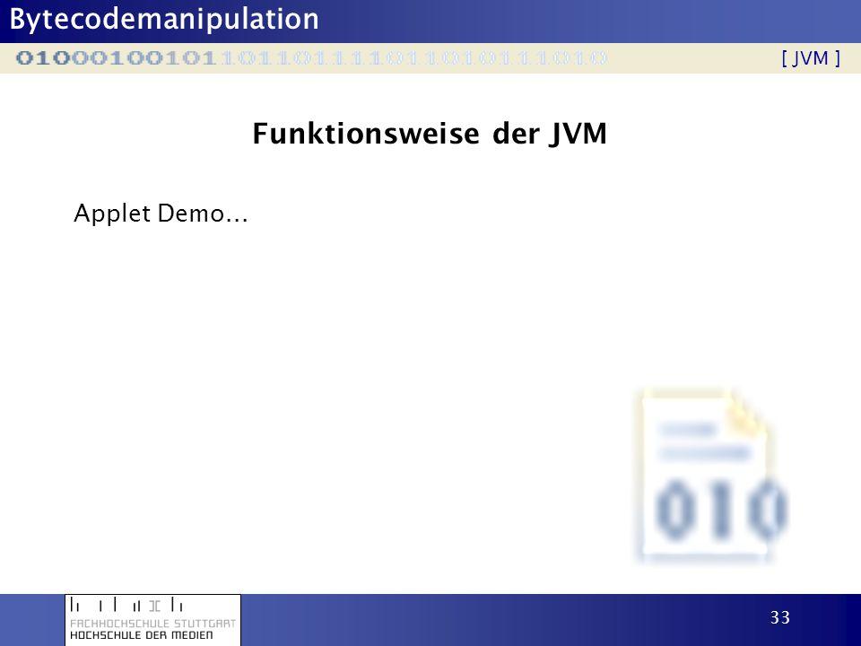 Funktionsweise der JVM