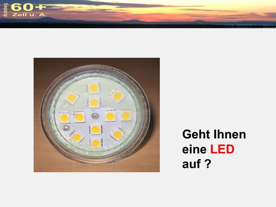 Geht Ihnen eine LED auf