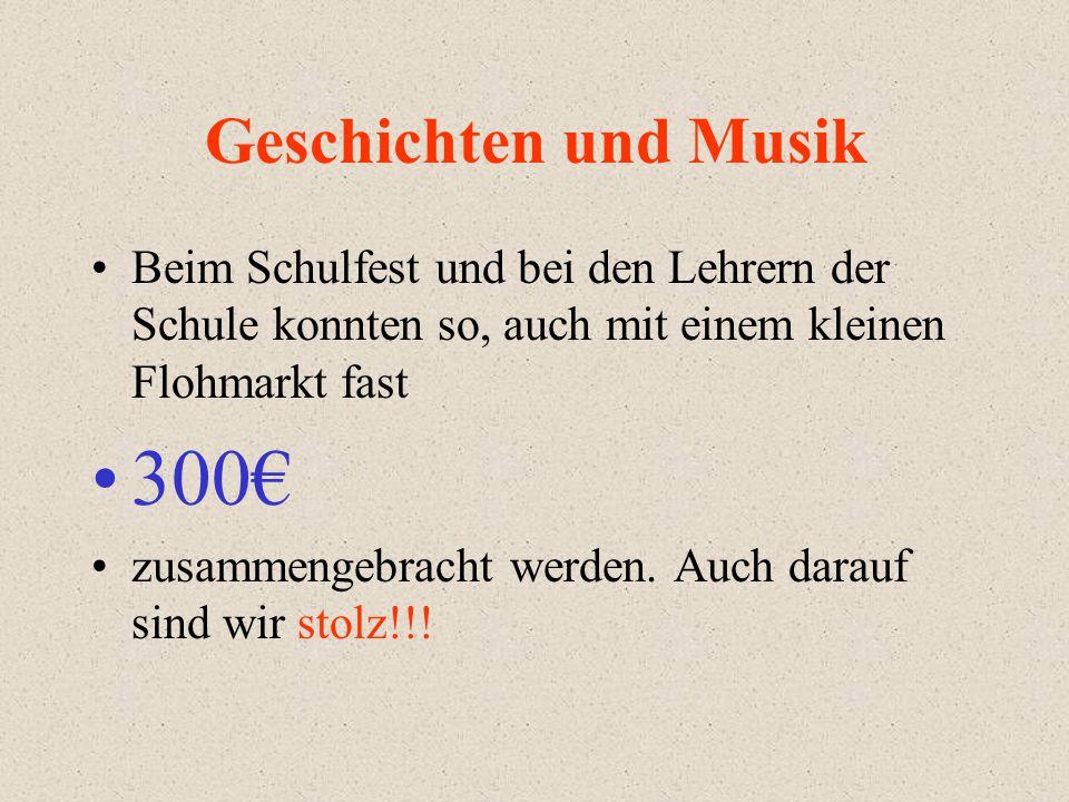 300€ Geschichten und Musik
