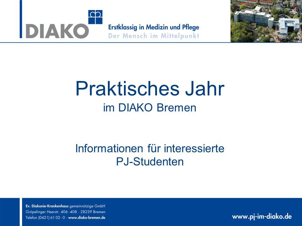 Praktisches Jahr im DIAKO Bremen